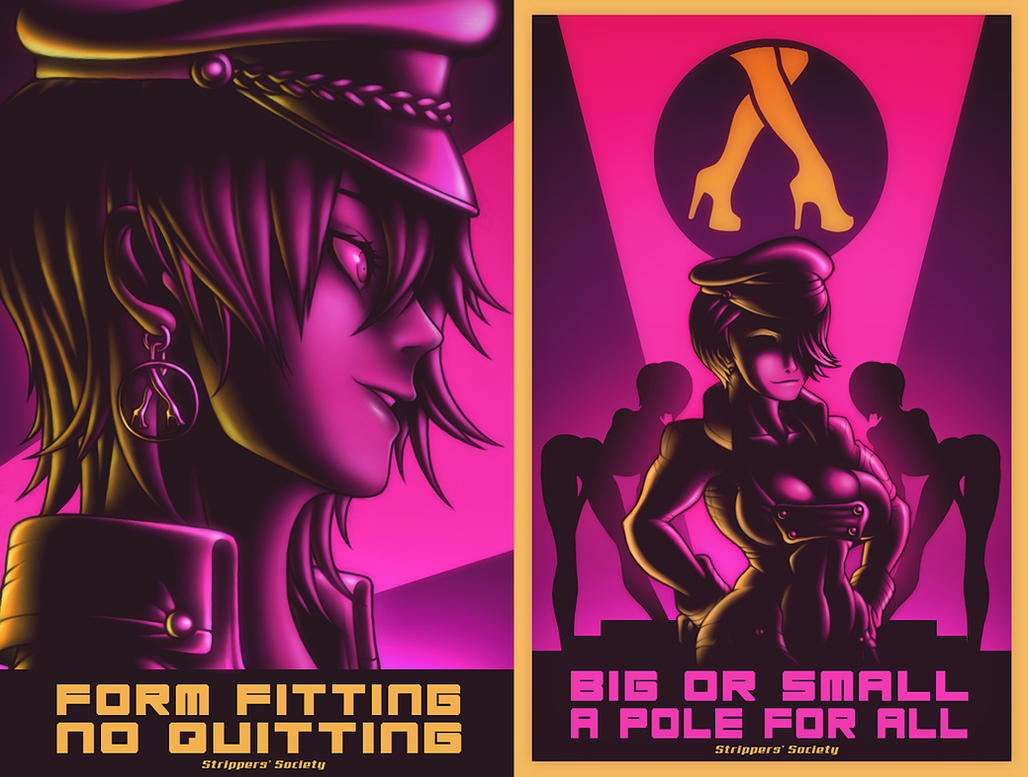 SS (Strippers' Society) Billboards - COLLATERAL by Mark-MrHiDE-Patten