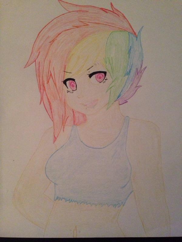 Headcanon Rainbow Dash by YourSpiritMother
