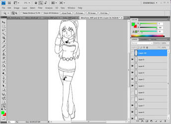Mirabelle Teen- WIP by ThermalSky