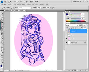 Victorian Sister- WIP by ThermalSky