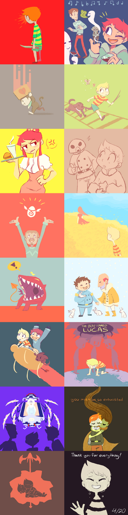 we love mother 3 by Socks-and-Notebooks