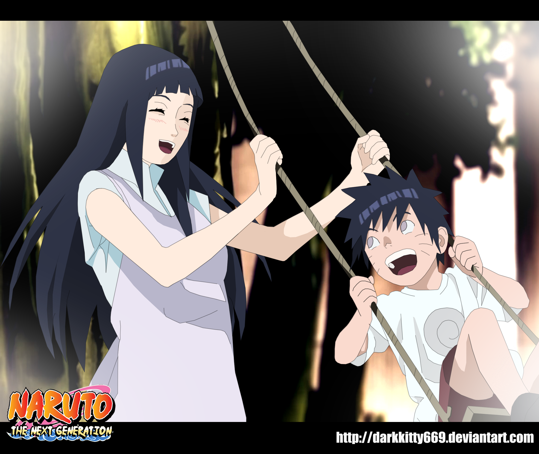 hinata and naruto child