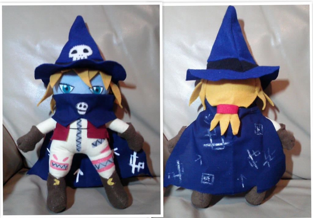 Wizardmon plushie by Sakura-chan4100