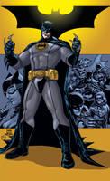 Batman Inc by MarcBourcier