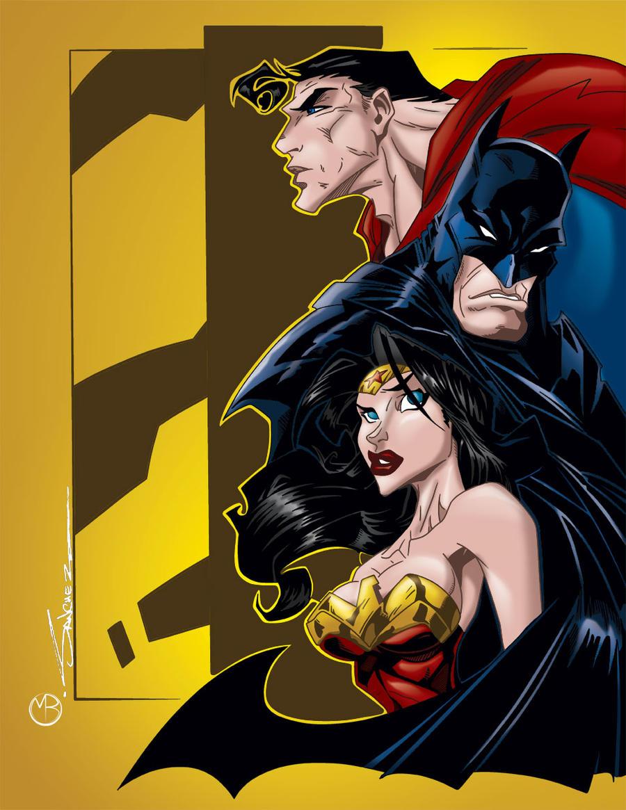 DC Trinity Sanchez by MarcBourcier