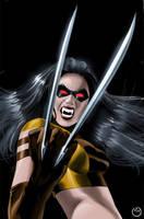 X-23 Vampire by MarcBourcier