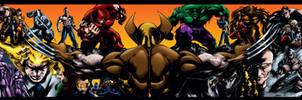 Wolverine Legacy by MarcBourcier