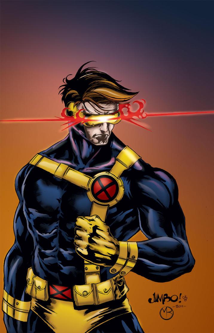 Cyclops by MarcBourcier on DeviantArtX Men Cyclops Comic
