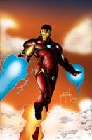 Iron Man - Fire Away by MarcBourcier
