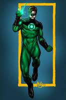 Green Lantern reboot by MarcBourcier