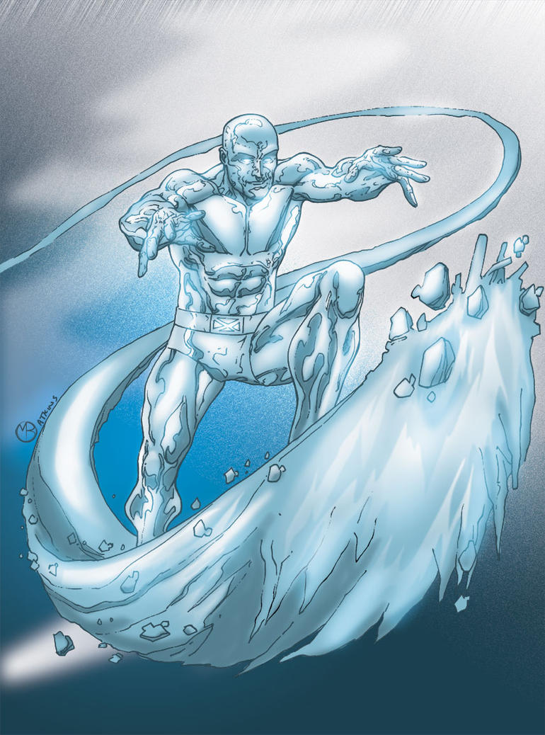 Iceman by MarcBourcier on DeviantArt