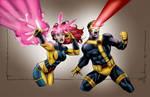 X-Men Scott and Jean