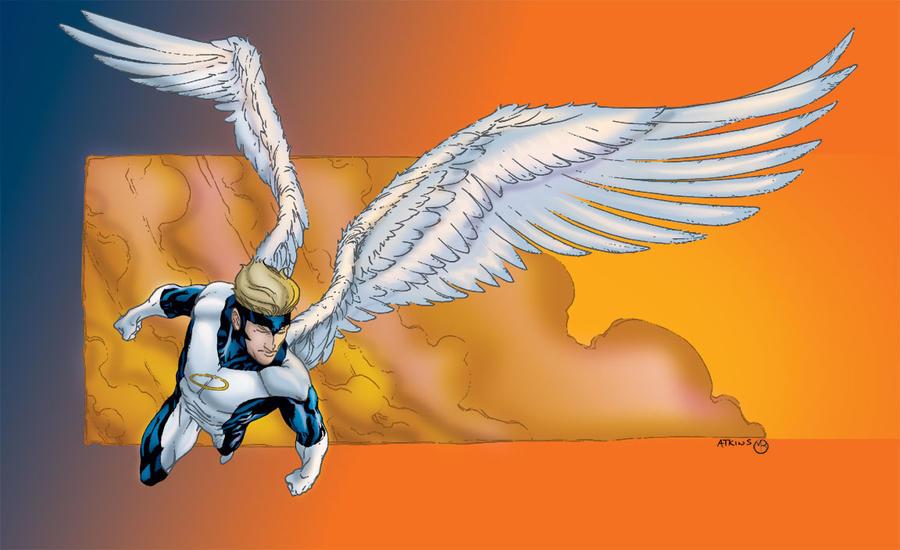 X Men Angel X-Men Angel by MarcBourcier