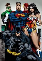 Justice League - Marcio by MarcBourcier