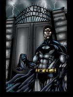 The Dark Knight Unmasked by MarcBourcier