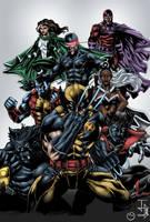 X-Men - Juliusdean by MarcBourcier