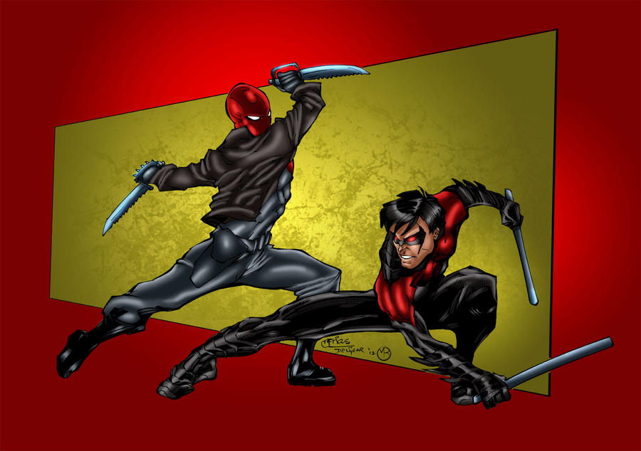 Nightwing Red Hood Red Robin Nightwing And Red Robin