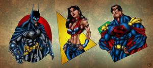 Ultimate JLA: The Big Three