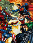 Avengers Vs. Justice League