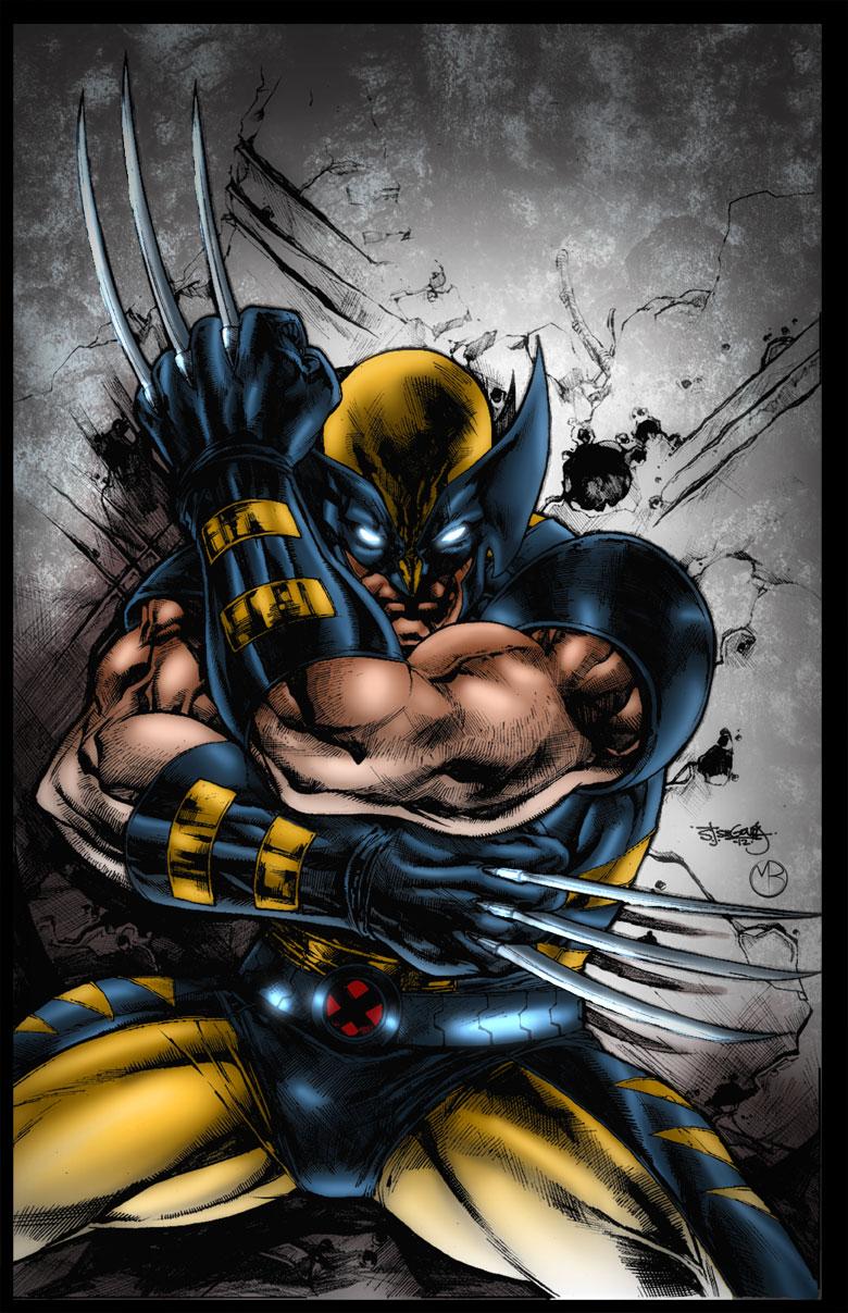 Wolverine by MarcBourcier