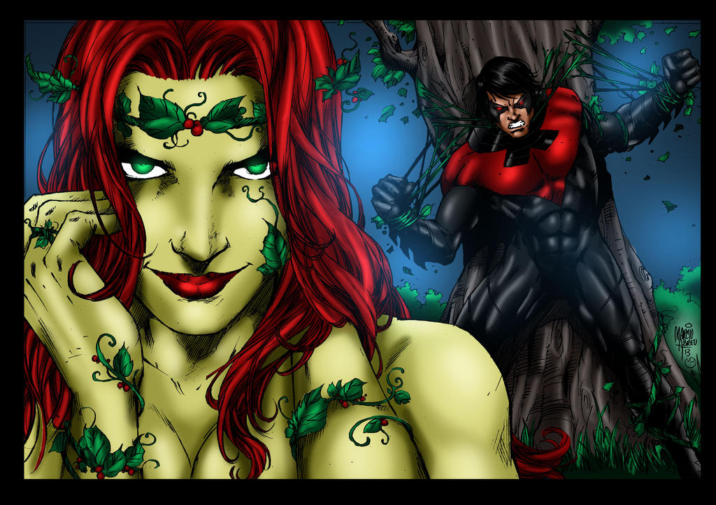 Can defined? nightwing and poison ivy porn