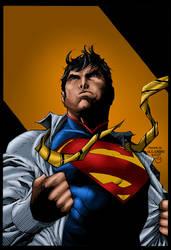 Jim Lee  Superman Wondercon by MarcBourcier