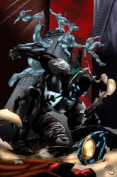Batman Arkham Annual Page 4 By Aethibert by MarcBourcier