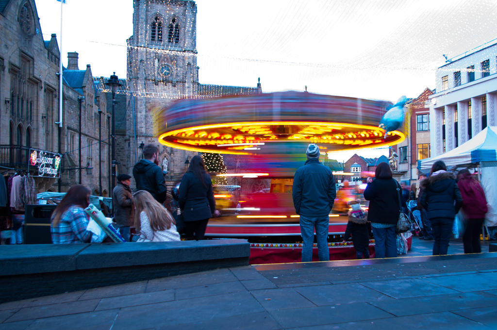 Merry go round by paradoxofminds
