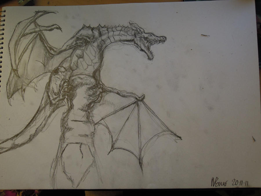 how to draw awesome dragon pictures