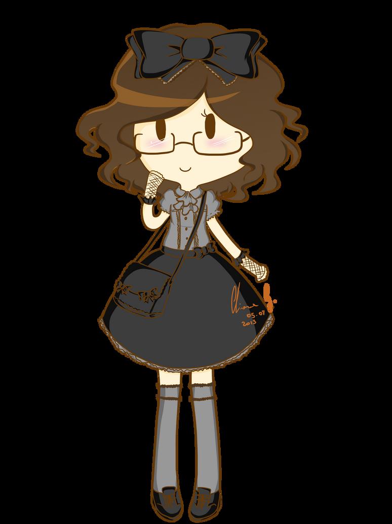 Monochrome Lolita by LiloLilosa