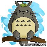 Totoro by LiloLilosa