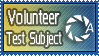 Aperture Science Volunteer by SpinningStarshine