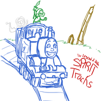 Legend of Zelda: Spirit Tracks by bonbonthefireelf