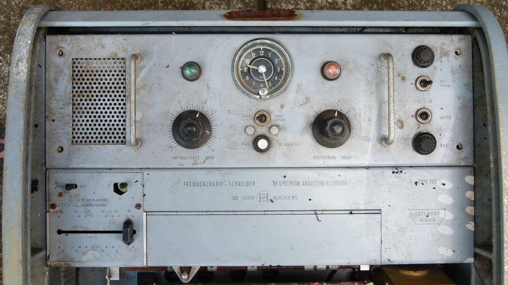 vintage chart recorder panel by otherunicorn-stock