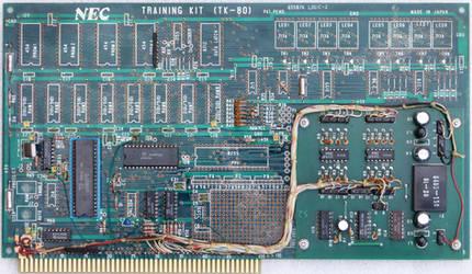 TRAINING KIT (TK-80) 65507A LOGIC-2 Circuit board