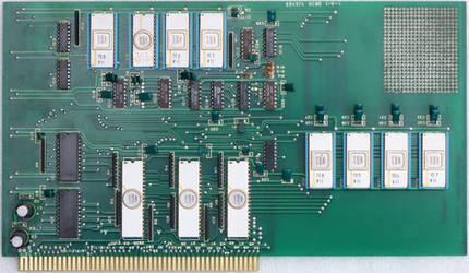 65497A MEMO I/O-1 Circuit board from NEC 65490A