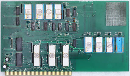 65497A MEMO I/O-2 Circuit board from NEC 65490A