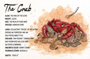 Character File #3: The Crab