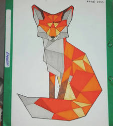 renard cubique  by mathieu-nightray
