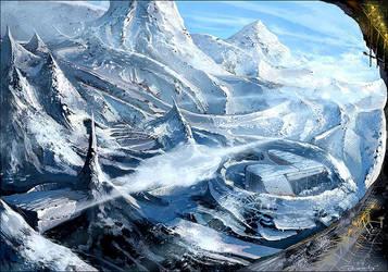 Snow scene by noahkh