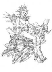 .lineart.-.wild.jasmine. by noahkh