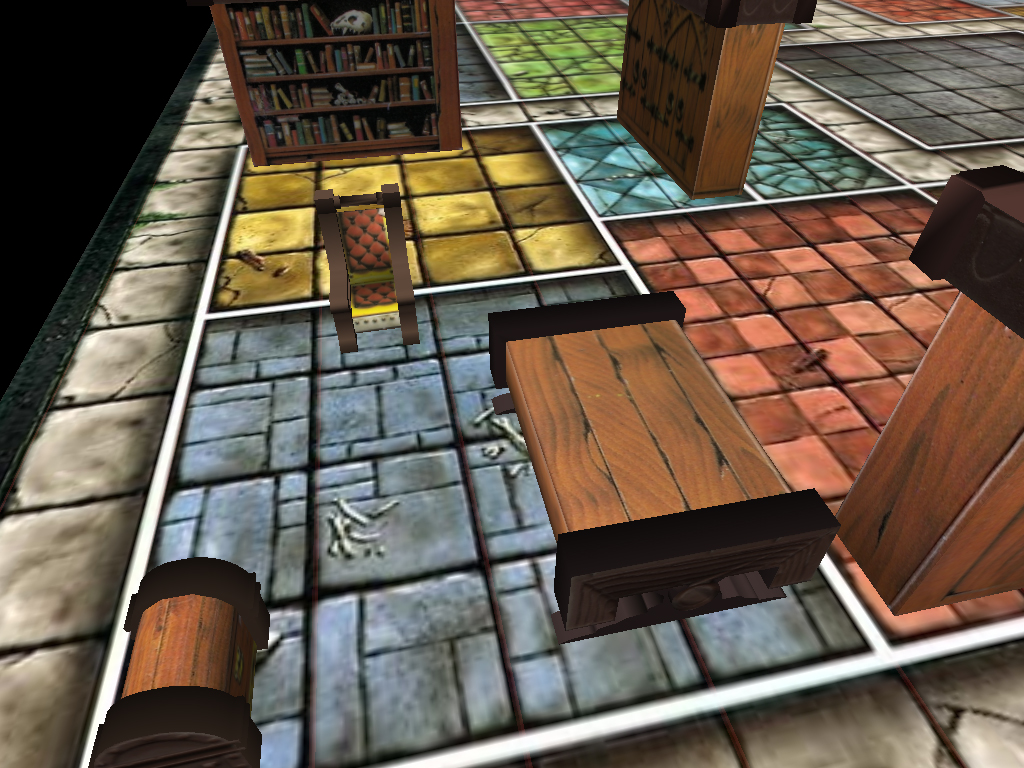 Second Heroquest Screen by dabein