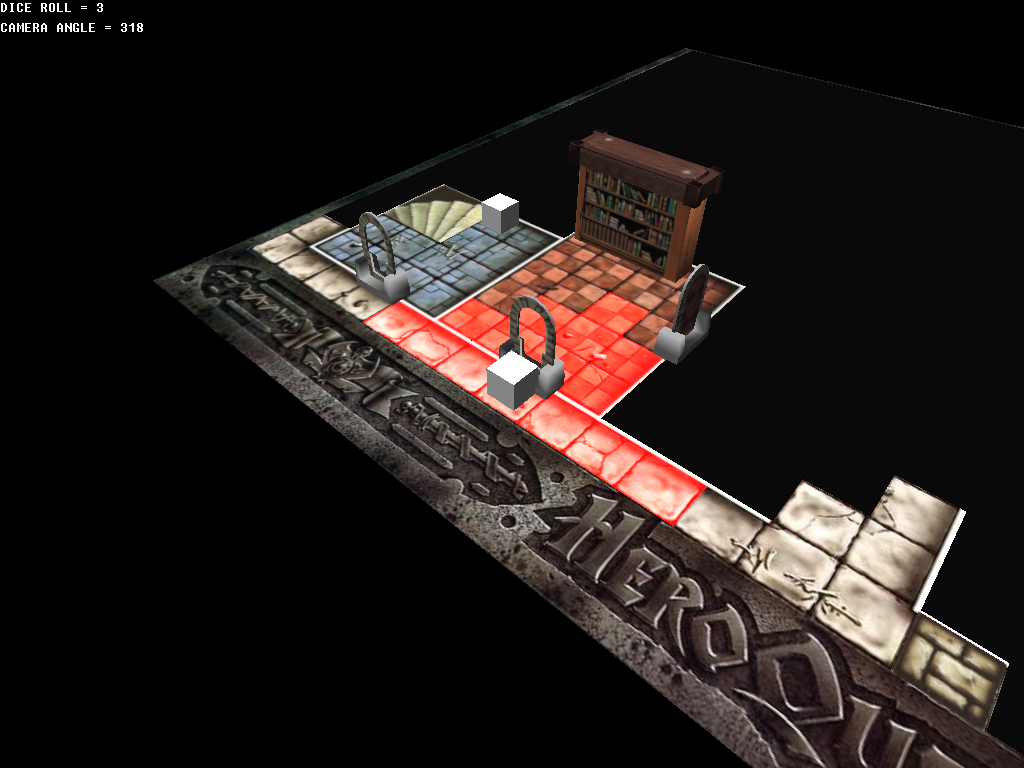 Heroquest Screen 4 by dabein