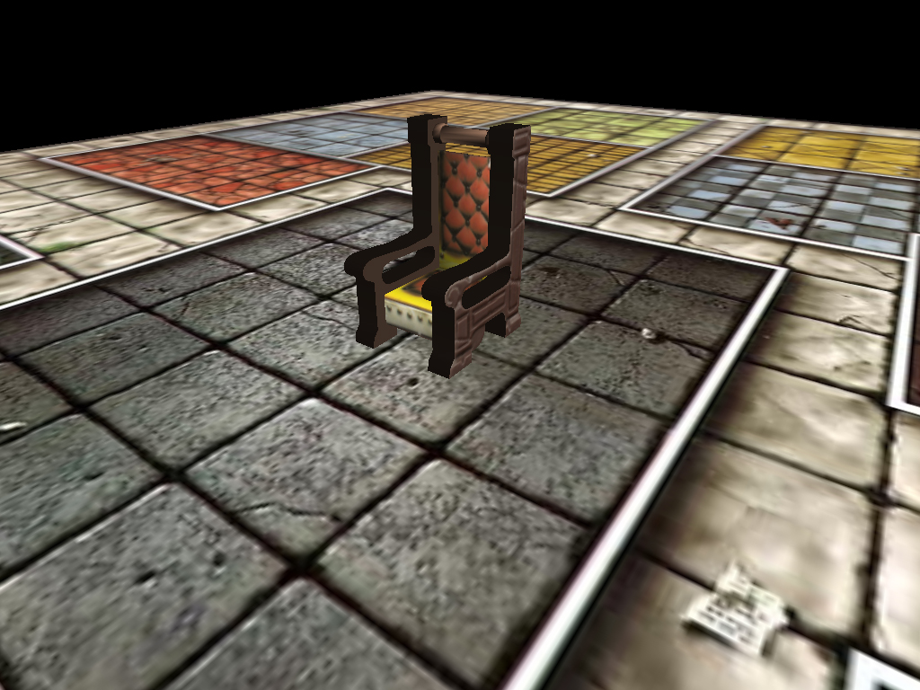 First Heroquest Screen by dabein