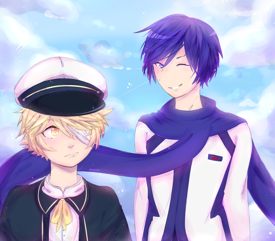 Kaito And Oliver by Anoixi