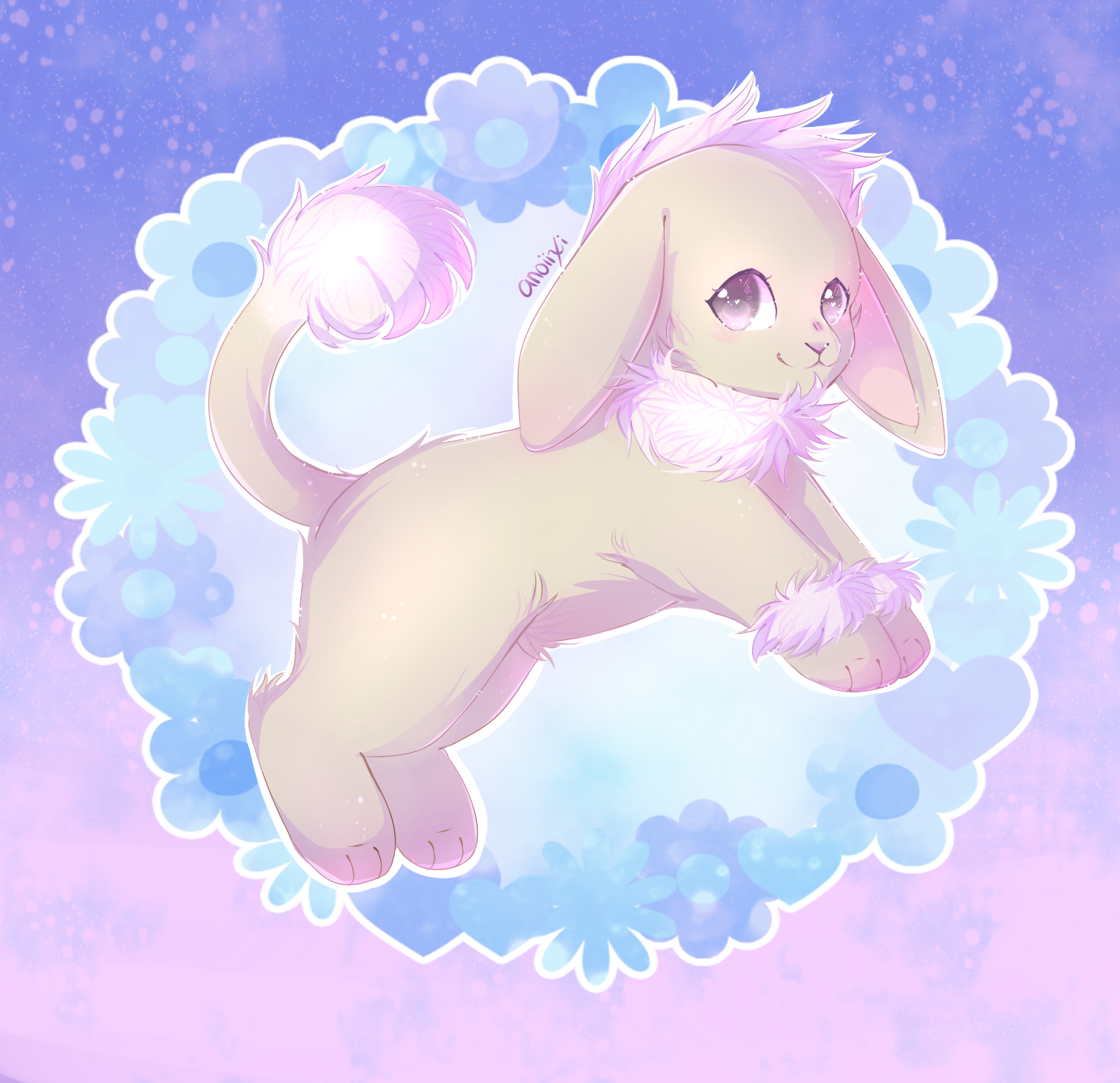 Bunny Lion! by Anoixi