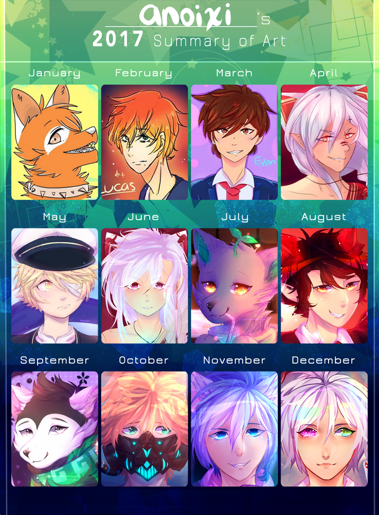 Summary of Art 2017! by Anoixi