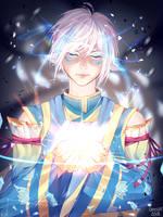 Ice Angel [Speedpaint] by Anoixi
