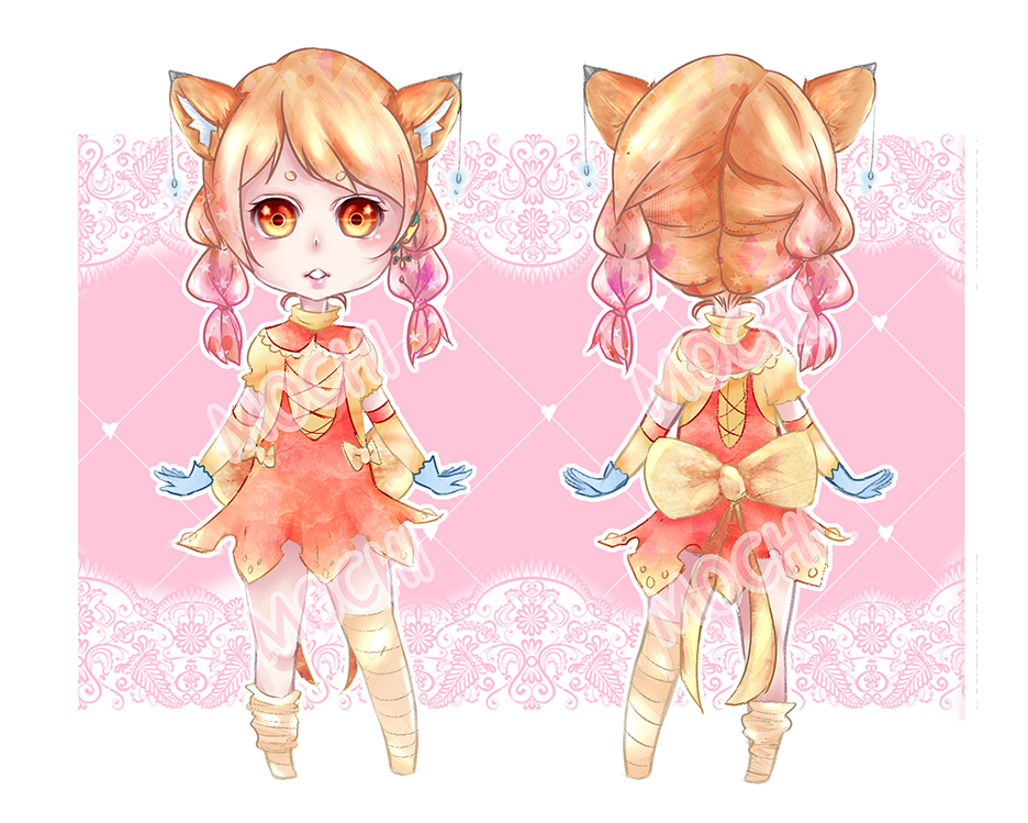 [Mochi Adopt] Orange Marmalade: OPEN AUCTION by Mocomochii