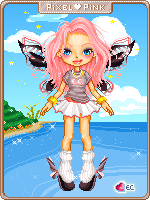 eCandy Theme doll by pixelpink